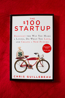 Book cover for Chris Guillebeau's 'The $100 Startup""