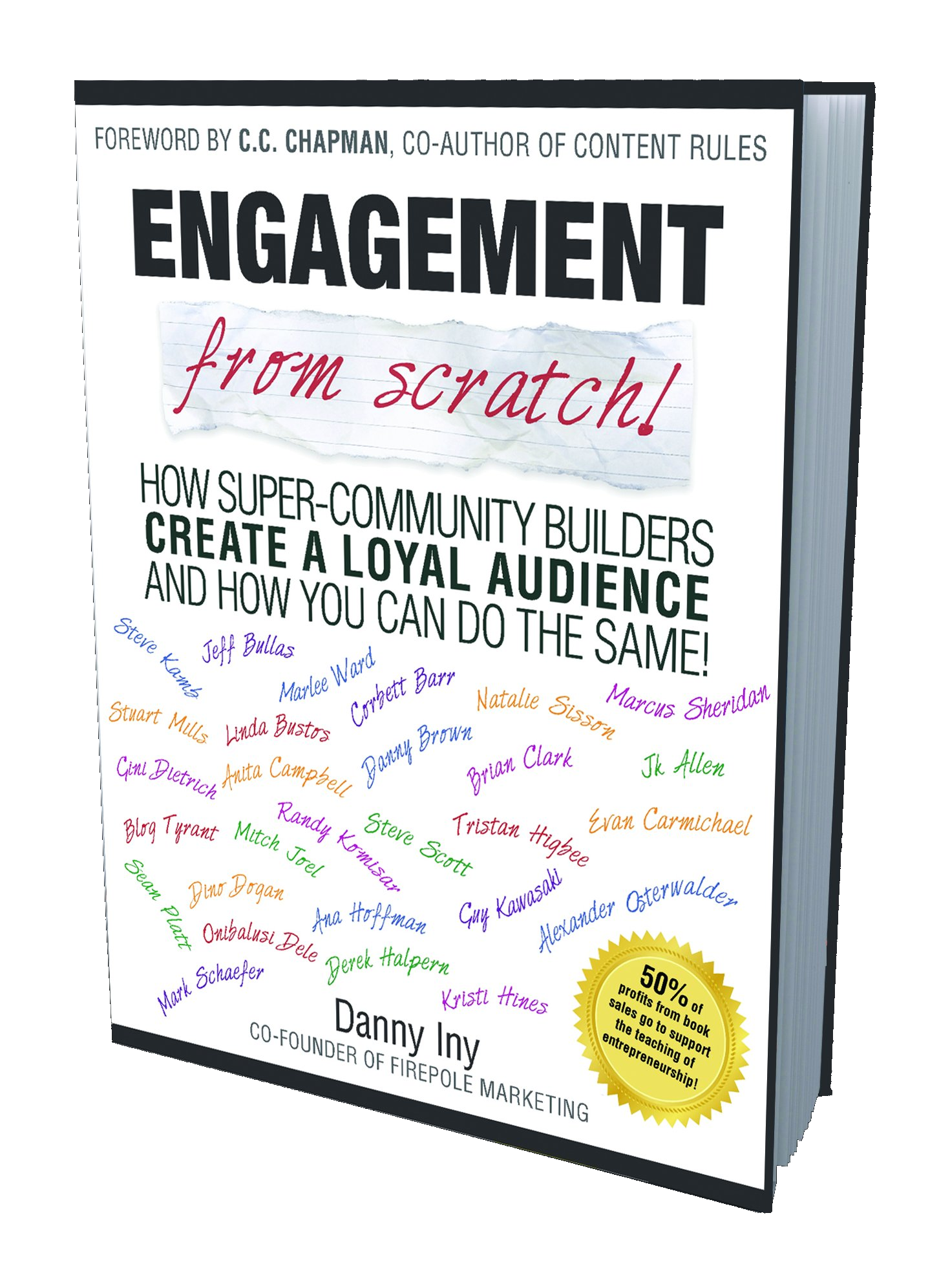 Danny Iny's 'Engagement From Scratch!' book cover