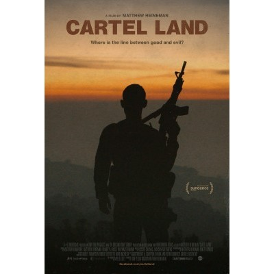 """Cartel Land"" documentary poster. Courtesy of The Documentary Group.,"