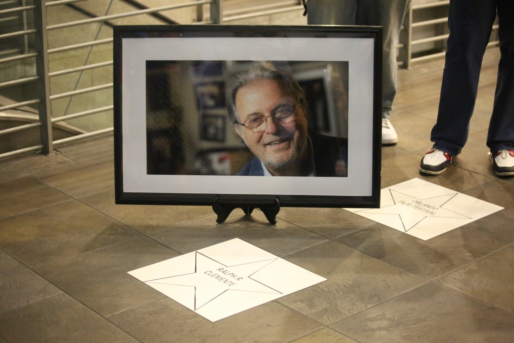 The late Ralph Clemente is honored at the 2015 Orlando Film Festival. Photo: J. Willie David, III/Florida National News