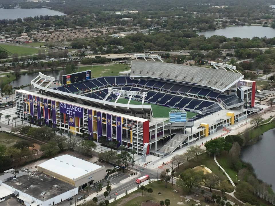 The newly renovated Orlando Citrus Bowl. Photo: Kitch.