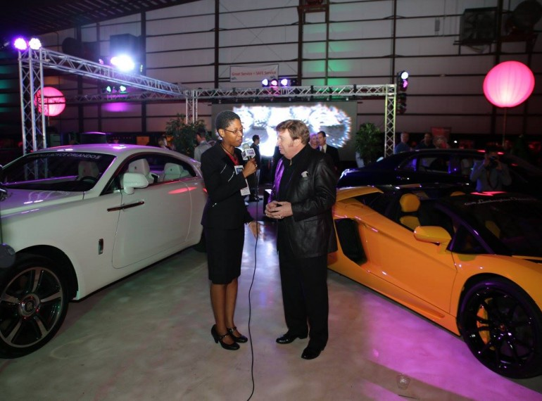 ENTERTAINMENT: International Media Personality Ron Seggi at the Festivals of Speed Orlando 2015 Luxury Lifestyle Jetport Reception at Orlando International Airport. Photo: J. Willie David III/Florida National News.