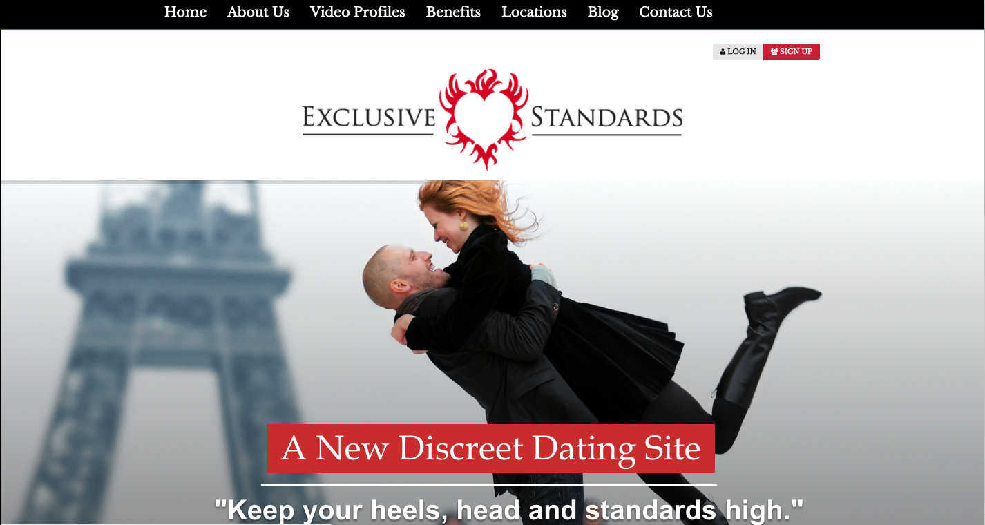 FAMU Graduate Tanya Baskerville's ExclusiveStandards.com, a luxury dating site exclusively for single professionals, launches in time for Valentine's Day. Image: ExclusiveStandards.com.