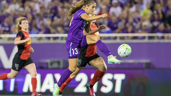 ORLANDO: Orlando Pride Maintains Home Victory Streak Against Western New York Flash. Photo: Orlando Pride.