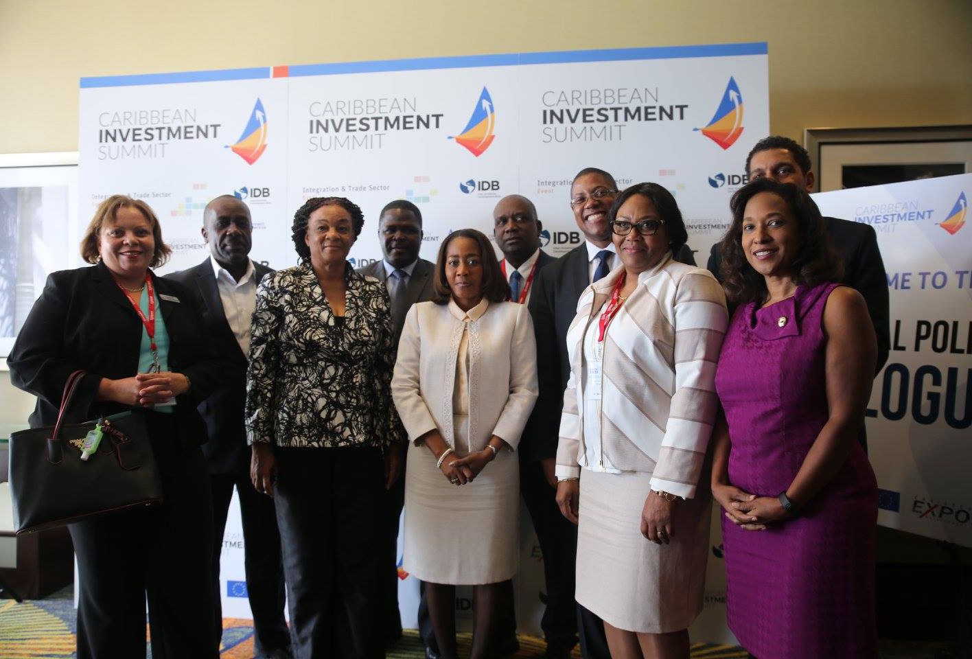 MIAMI, Fla.: The 2016 Caribbean Investment Summit, produced by CAIPA, CEDA, and IDB, brought together Caribbean ministers and investors to increase foreign direct investments in the region. Photo: Mellissa Thomas/Florida National News.