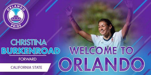 ORLANDO (FNN SPORTS) Orlando Pride signs Christine Burkenroad. Image: Orlando Pride.