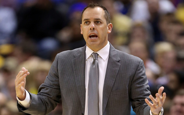 ORLANDO, Fla. (FNN Sports) -- Former Indiana Pacer Head Coach Frank Vogel agrees to coach the Orlando Magic. Photo: USATSI.