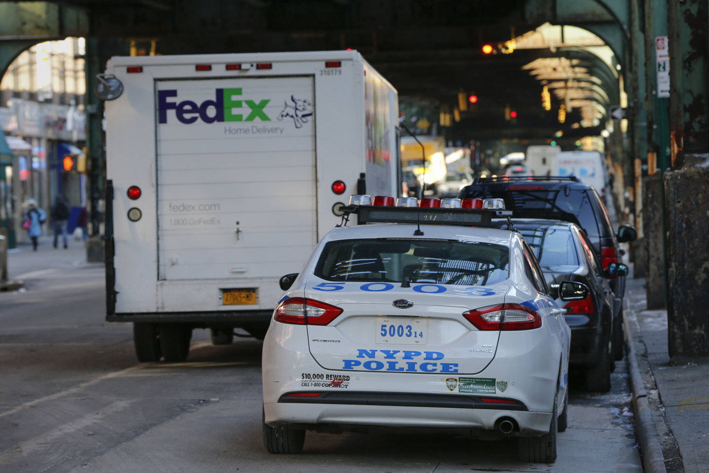 AUTO: New York, NY -- NYPD forced to face $1.7 million in wrongful parking ticket citations. Photo: Shannon Stapleton/Reuters.