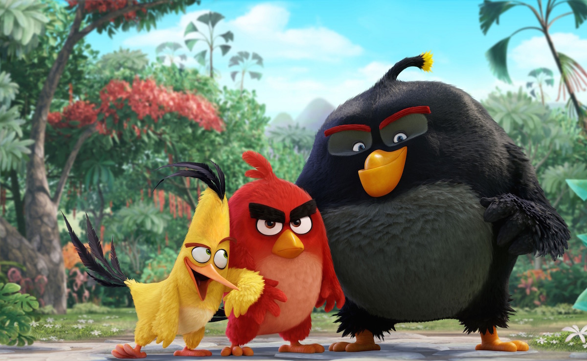 FNN ENTERTAINMENT: 'The Angry Birds Movie' takes #1 spot at the box office. Image: Sony.