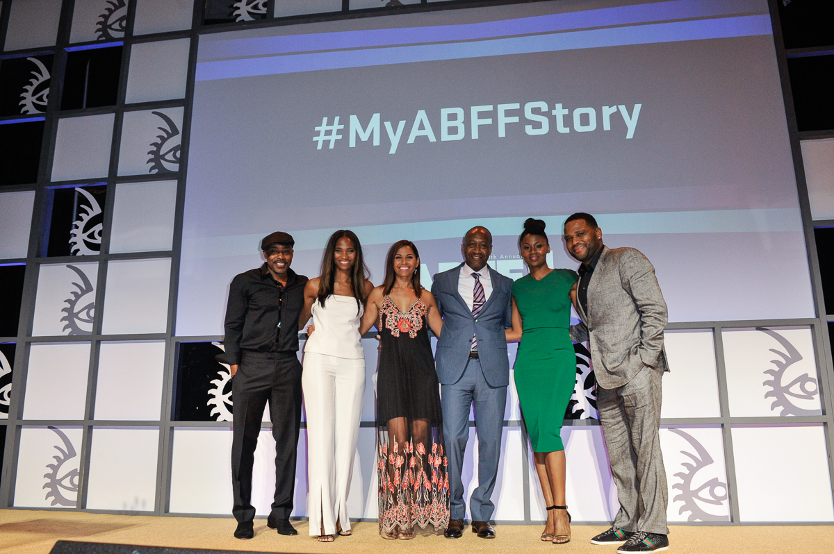 """MIAMI BEACH, Fla (FNN News) -- The """"Best of the Festival"""" Awards at the 20th Anniversary of the American Black Film Festival on June 18, 2016 at the Loews Hotel. Photo by: Aaron J. / ABFF / RedCarpetImages.net"""