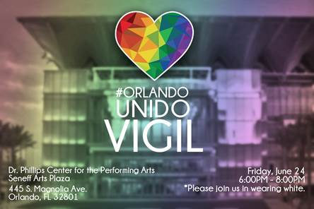ORLANDO, Fla. (FNN NEWS) -- Hispanic Chamber to host special vigil at Doctor Phillips Center Friday. Image: HCCMO.