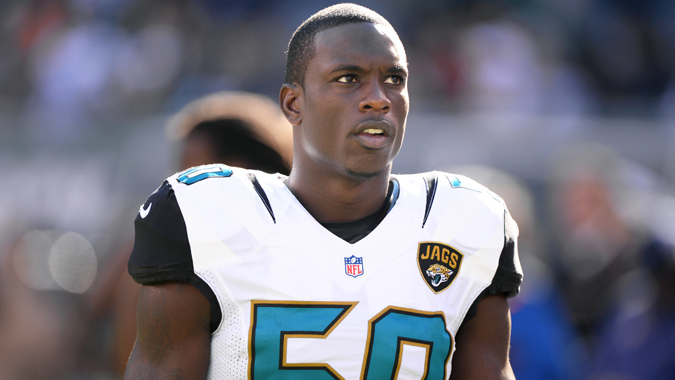 JACKSONVILLE: Telvin Smith of the Jacksonville Jaguars will drive the pace car for the Coke Zero 400. Photo: Jacksonville Jaguars.