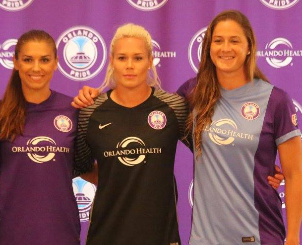 ORLANDO (FNN SPORTS): Alex Morgan and Ashlyn Harris called up to U.S. Women's Soccer team for Rio Olympics. Photo: Mellissa Thomas/Florida National News.