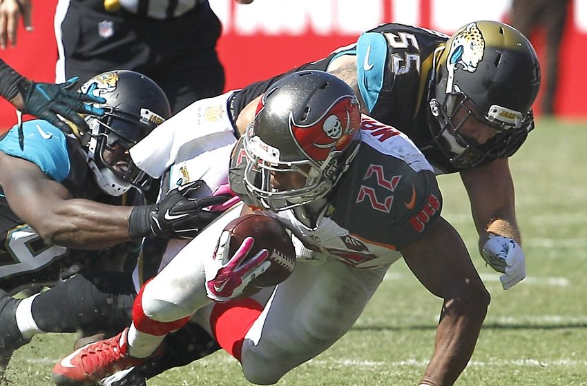 JACKSONVILLE (FNN SPORTS) -- The Tampa Bay Buccaneers held their own in a heated battle against the Jacksonville Jaguars Saturday. Photo: Reinhold Matay/USA TODAY Sports.