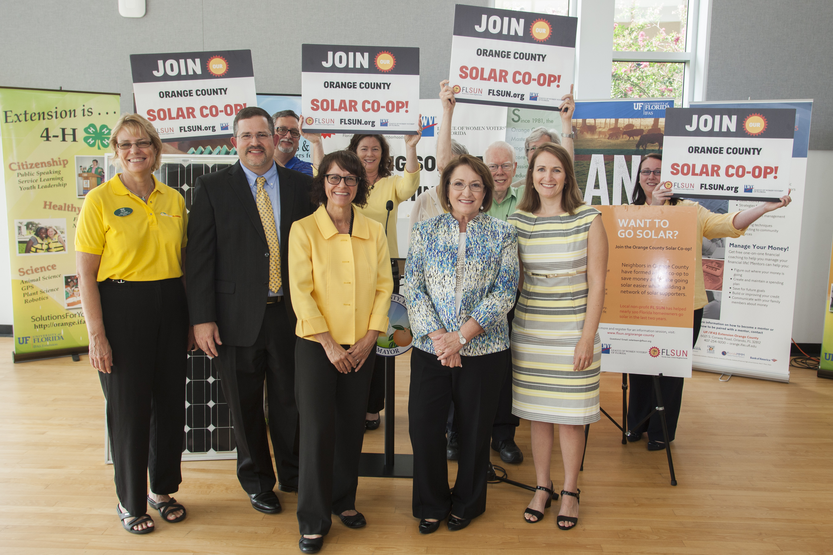 ORANGE COUNTY, Fla. (FNN News): Orange County launches solar co-op. Photo: Orange County Govt.