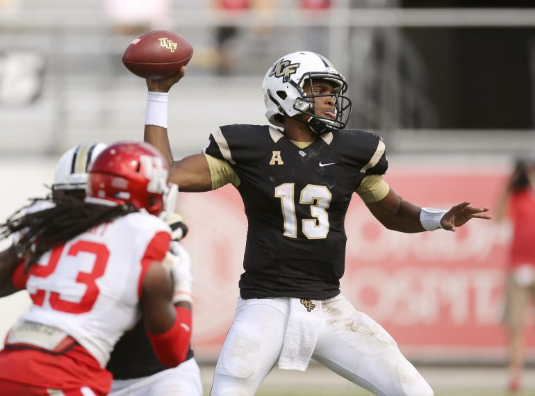 ORLANDO (FNN SPORTS) - With Scott Frost at the helm, the UCF Knights have 8 seniors to watch for the 2016 season. Photo: Orlando Sentinel.