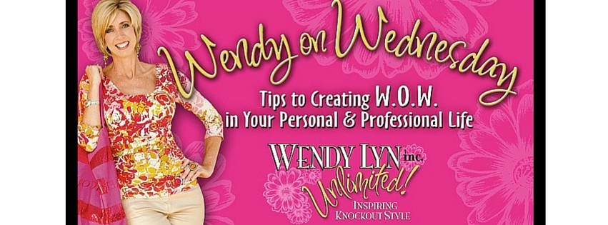 Wendy on Wednesdays: Florida National News column by image expert Wendy Lyn Phillips.
