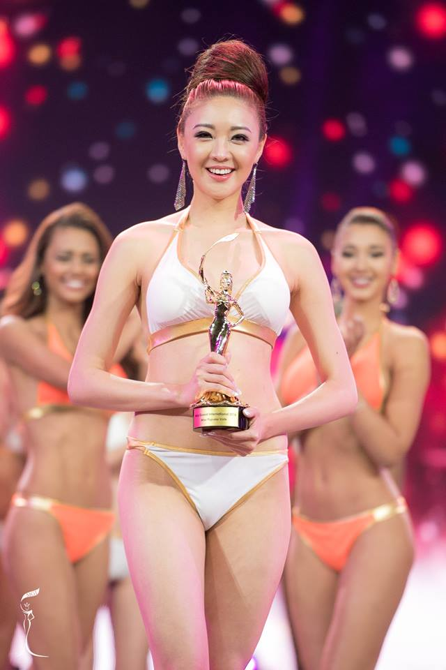 Miss Korea Cho Yeseul wins Miss Popular Vote award