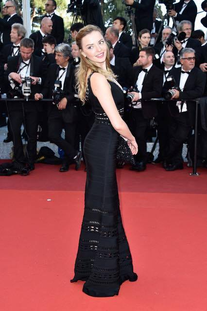 Marina Orlova attends Woody Allen's Opening premiere at the 69th Cannes Film Festival.