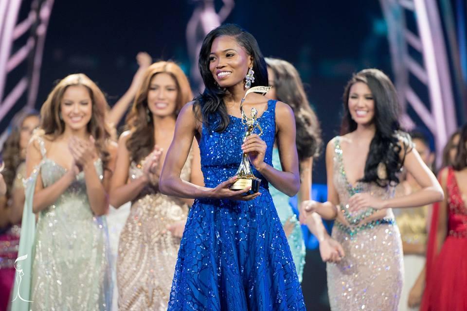 Miss Jamaica Dianne O. Brown wins Best Social Media award