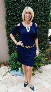 Renowned image expert Wendy Lyn Phillips demonstrates the power of navy blue. Photo: Wendy Lyn Phillips.