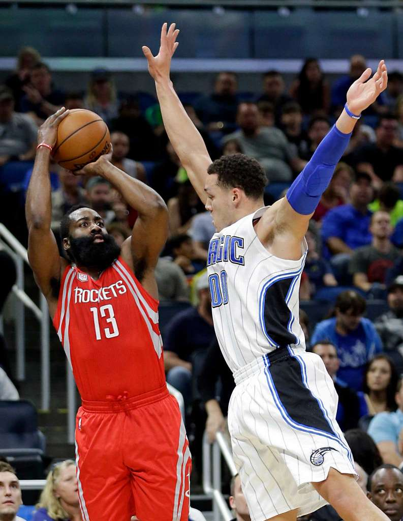 ORLANDO, Fla. (FNN SPORTS) -- The Houston Rockets survived a slow start to defeat the Orlando Magic Friday night at Amway Center. Photo: John Raoux/AP.