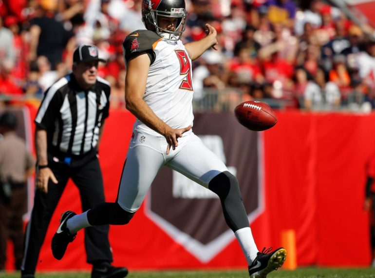 TAMPA BAY: The NFL announced today that Tampa Bay Buccaneers punter Bryan Anger has been named NFC Special Teams Player of the Week. Photo: Kim Klement-USA TODAY Sports