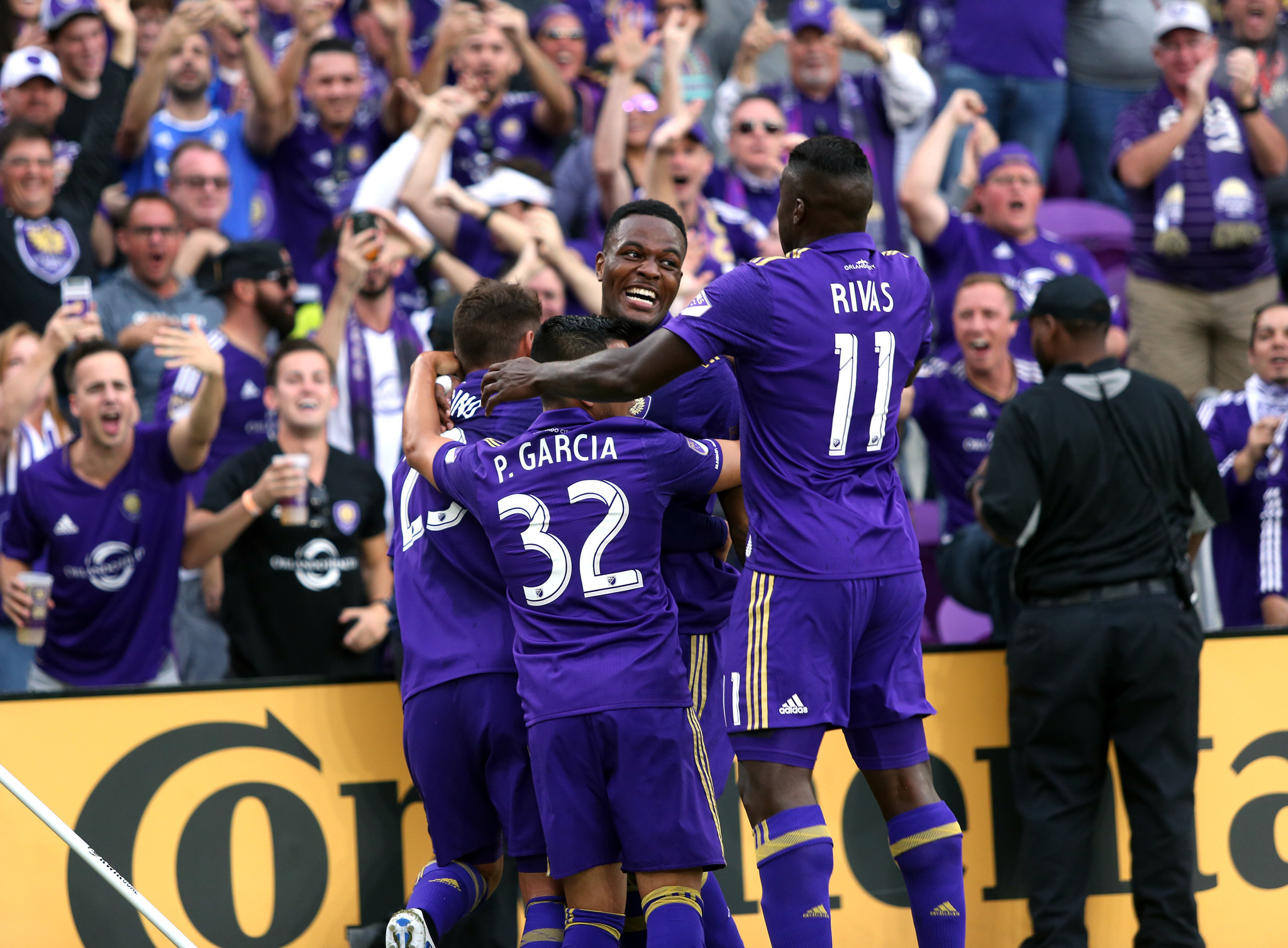 ORLANDO (FNN SPORTS) - Cyle Larin's early goal and Joe Bendik's goal protection secure Orlando City's home opener victory in their new Orlando City Stadium Sunday. Photo: Orlando Sentinel.