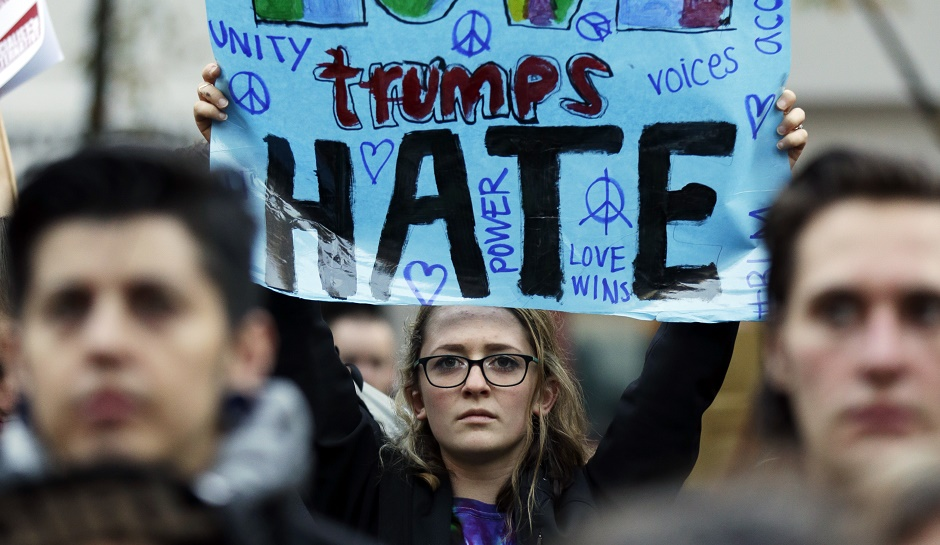 POLITICS & POWER: The LGBTQ community may have the wrong idea that President Trump is against them. Photo: The Inquisitr.