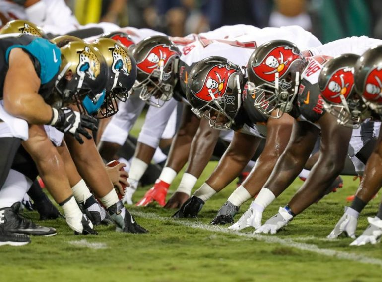 JACKSONVILLE (FNN SPORTS): The Tampa Bay Buccaneers secured their first preseason win against the Jaguars at EverBank Field August 17, 2017. Photo: Tampa Bay Buccaneers.