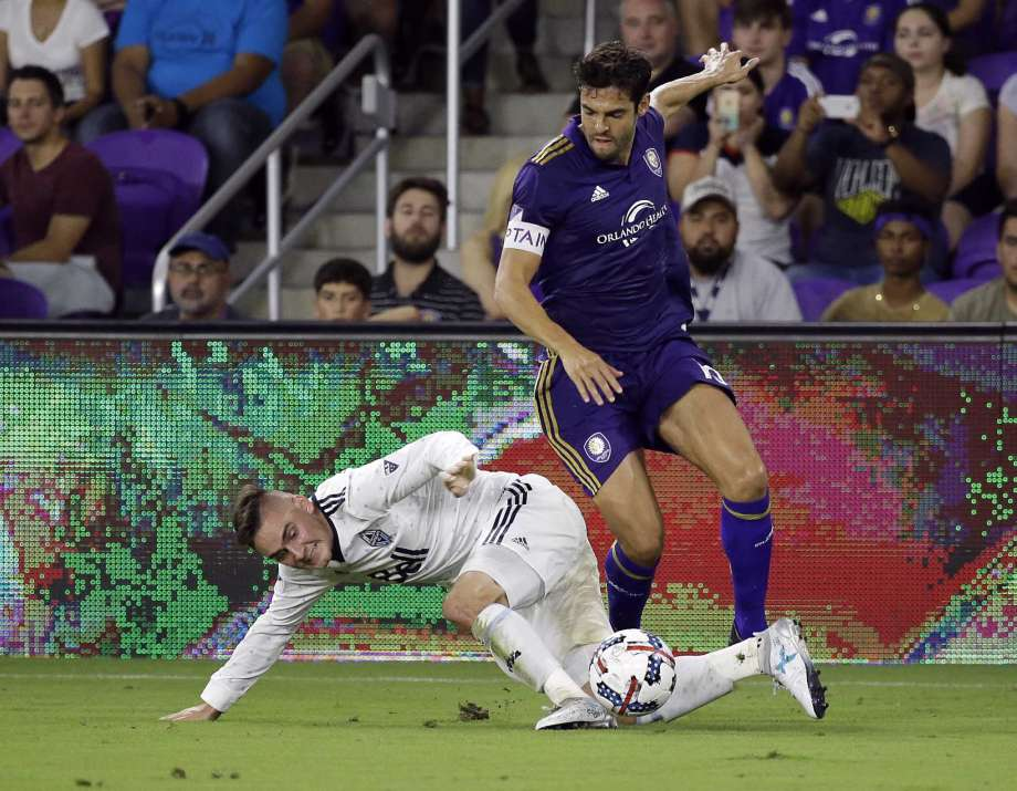 ORLANDO, Fla. (FNN SPORTS) - Ricardo Kaka' and the Orlando City Lions played with their playoff hopes on the line at Orlando City Stadium Saturday. Photo: John Raoux/AP.