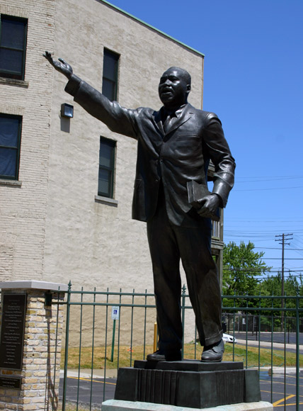 Statue of Dr. Martin Luther King, Jr. Photo courtesy of Facebook.