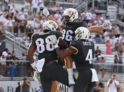 EAST ORLANDO (FNN SPORTS) - UCF's stellar defense and aggressive offense galvanized for a massive victory at Spectrum Stadium Thursday. Photo: UCF Knights.