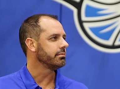 ORLANDO (FNN SPORTS) - Orlando Magic Head Coach Frank Vogel speaks on 93-90 victory against the Miami Heat at Amway Center Saturday. Photo: Mellissa Thomas/Florida National News.