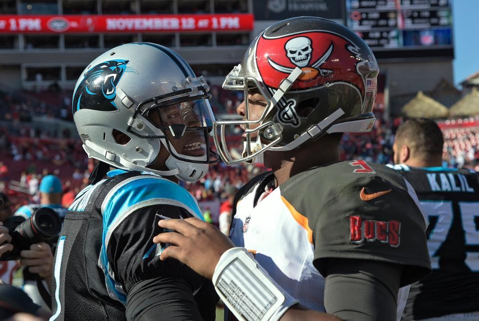 TAMPA (FNN SPORTS) - Despite its stingy defense, the Tampa Bay Buccaneers fell to Carolina Panthers Sunday at Raymond James Stadium Sunday. Photo: Phelan Ebenhack/AP.