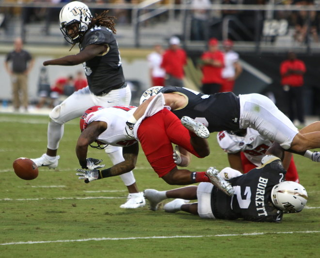 ORLANDO (FNN SPORTS) - UCF held their own and made history against an aggressive Austin Peay at Spectrum Stadium Saturday. Photo: UCFSports.com.