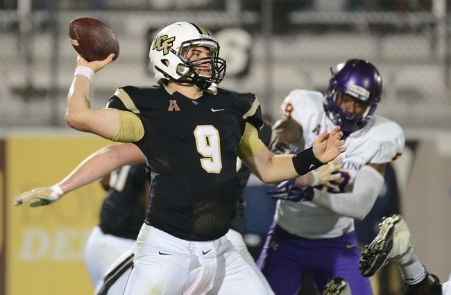 ORLANDO (FNN SPORTS) - UCF continued their winning streak by having eight different players score touchdowns against East Carolina at Spectrum Stadium on Saturday. Photo: USA TODAY Sports.