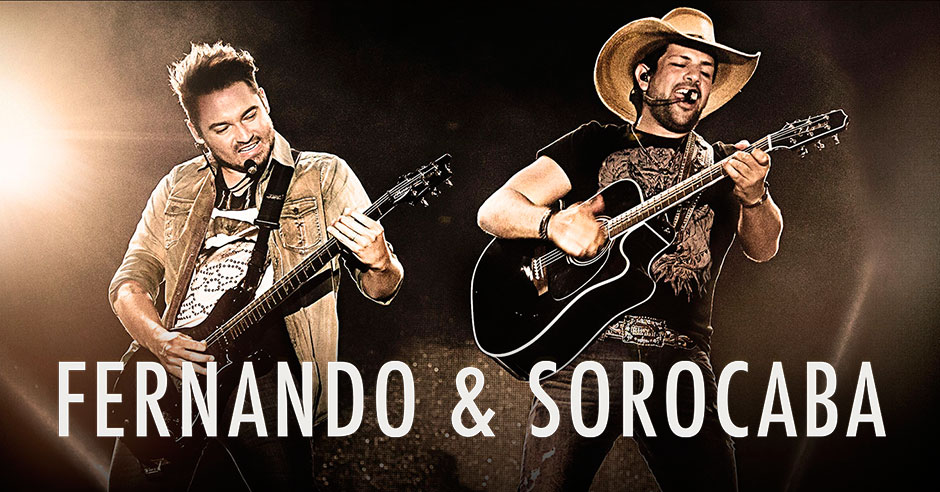 ORLANDO (FNN NEWS) - Fernando and Sorocaba, one of the leading names in Brazilian country music, will headline the 2018 Florida Cup Fan Fest at Universal Studios on Jan. 13. Photo courtesy of GoioNews.com.br.