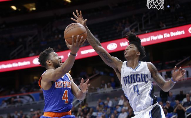ORLANDO (FNN SPORTS) - The Orlando Magic couldn't find ways to score the basketball in the last two home games, but they finally got back their scoring ways Wednesday night against the Knicks. Photo: USA TODAY Sports.