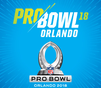 NEW YORK (FNN SPORTS) - The 2018 NFL Pro Bowl returns to Camping World Stadium Sunday, January 28, 2018. Click here to find out where to get your tickets. Image: ProBowlOrlando.com.