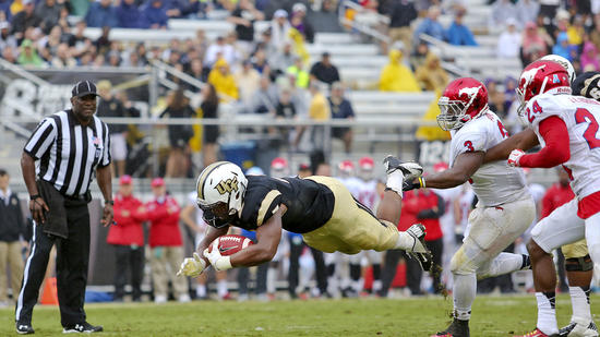 ORLANDO (FNN SPORTS) - Thanks to their 8-0 record, the UCF Knights arr also rising in the Coaches Poll. Photo: Orlando Sentinel.