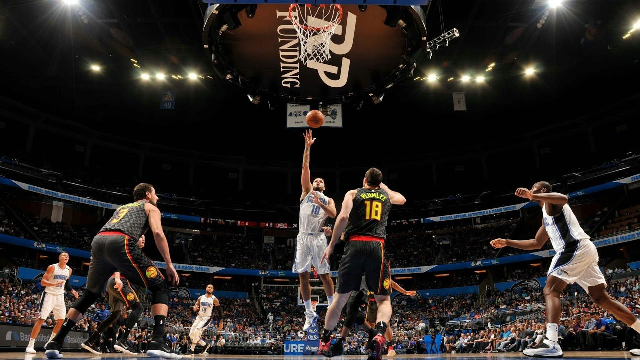 ORLANDO, Fla. (FNN SPORTS) - Nikola Vucevic's defense helped the Orlando Magic to a 110-106 overtime victory over the Atlanta Hawks at Amway Center on Wednesday night. Photo: Getty Images.
