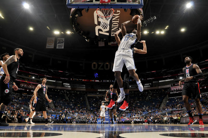 ORLANDO (FNN SPORTS) - In a game where the Magic added Arron Affalo to the list of unavailable players, the L.A. Clippers defeated the Magic by the score of 106-95. Photo by Fernando Medina/NBAE via Getty Images