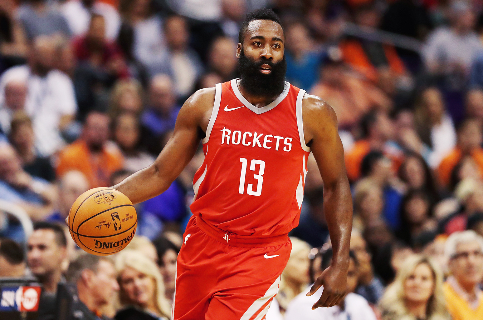 ORLANDO (FNN SPORTS) - The Houston Rockets led a balanced attack, defeating the Orlando Magic at Amway Center 1/3/18. Photo: RealSports101.com.
