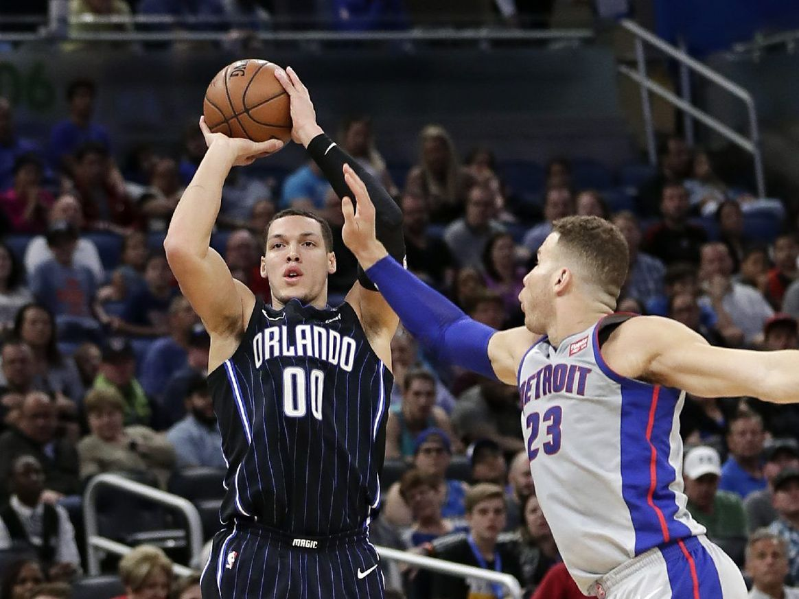 ORLANDO (FNN SPORTS) - Aaron Gordon and the Orlando Magic brought the heat against the Detroit Pistons in overtime at Amway Center Friday. Photo: AP.