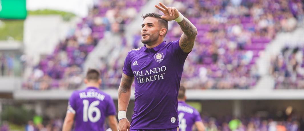 ORLANDO (FNN SPORTS): Dom Dwyer's return to Orlando City Saturday revitalized the team and helped net the win. Photo: Orlando City Soccer Club