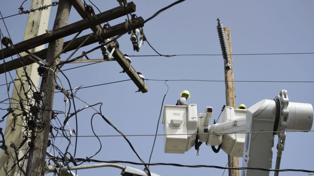 CAIN ALTO, Puerto Rico (AP) — After an 8-month, $3.8 billion federal effort to end the longest blackout in U.S. history, officials say Puerto Rico's public electrical authority is almost certain to collapse again when the next hurricane hits the island. Photo: Carlos Giusti/AP
