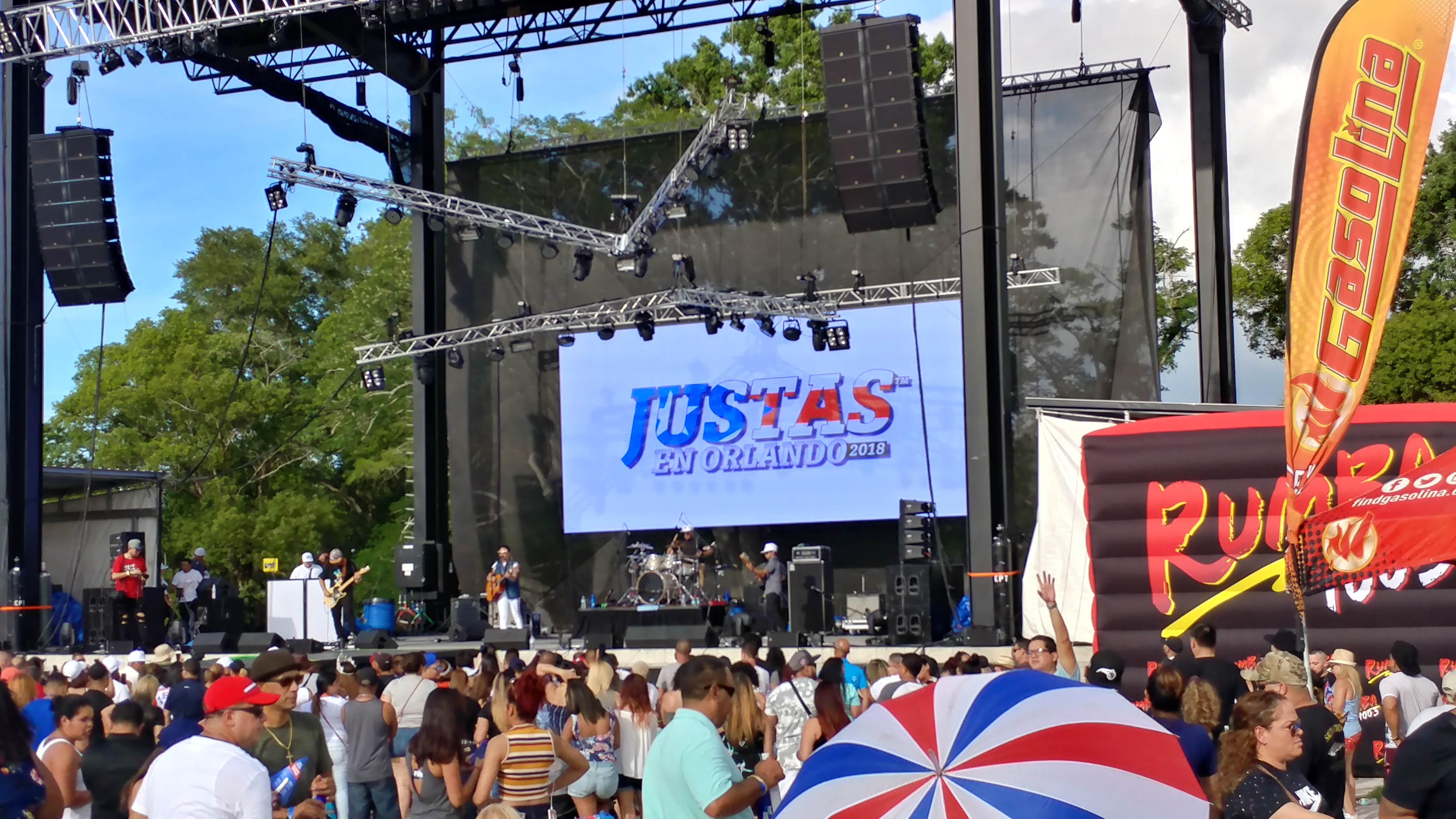ORLANDO, Fla. (FNN NEWS) - Justas in Orlando 2018, a Boricua tradition where athletes from universities, artists, and others gather in the island of Puerto Rico andOrlando, came to the Central Florida Fairgrounds May 5 and 6, 2018 and will return on June 24. Photo: Aixa Torres/Florida National News.