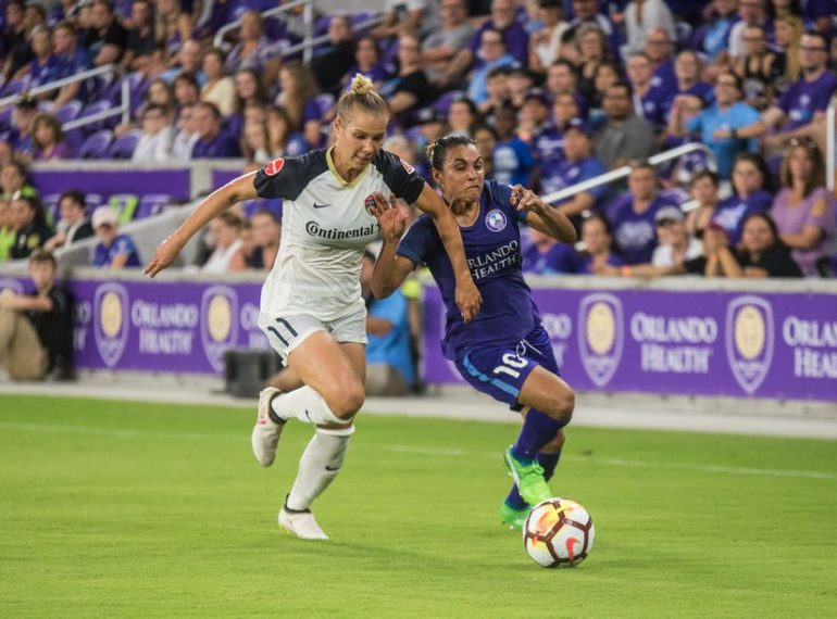 ORLANDO (FNN SPORTS) - North Carolina Courage clawed their way to a clean sheet against the Orlando Pride Saturday. Photo: Carlos Romero/The Mane Land.