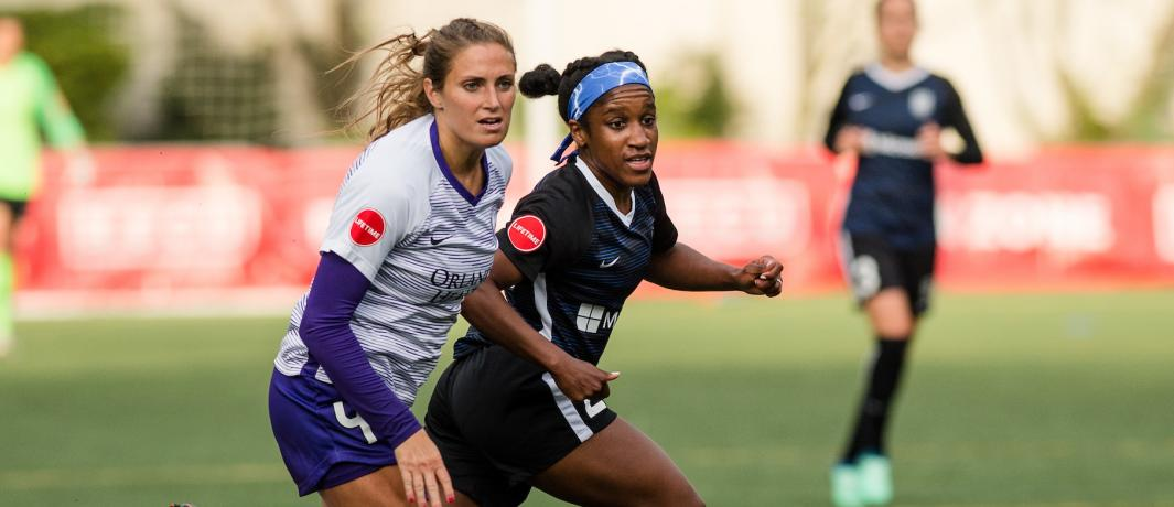 SEATTLE (FNN SPORTS) – Orlando Pride picked up its fifth straight point away from home on Sunday night, drawing Seattle Reign FC 0-0 at Memorial Stadium. Photo: Orlando City SC.